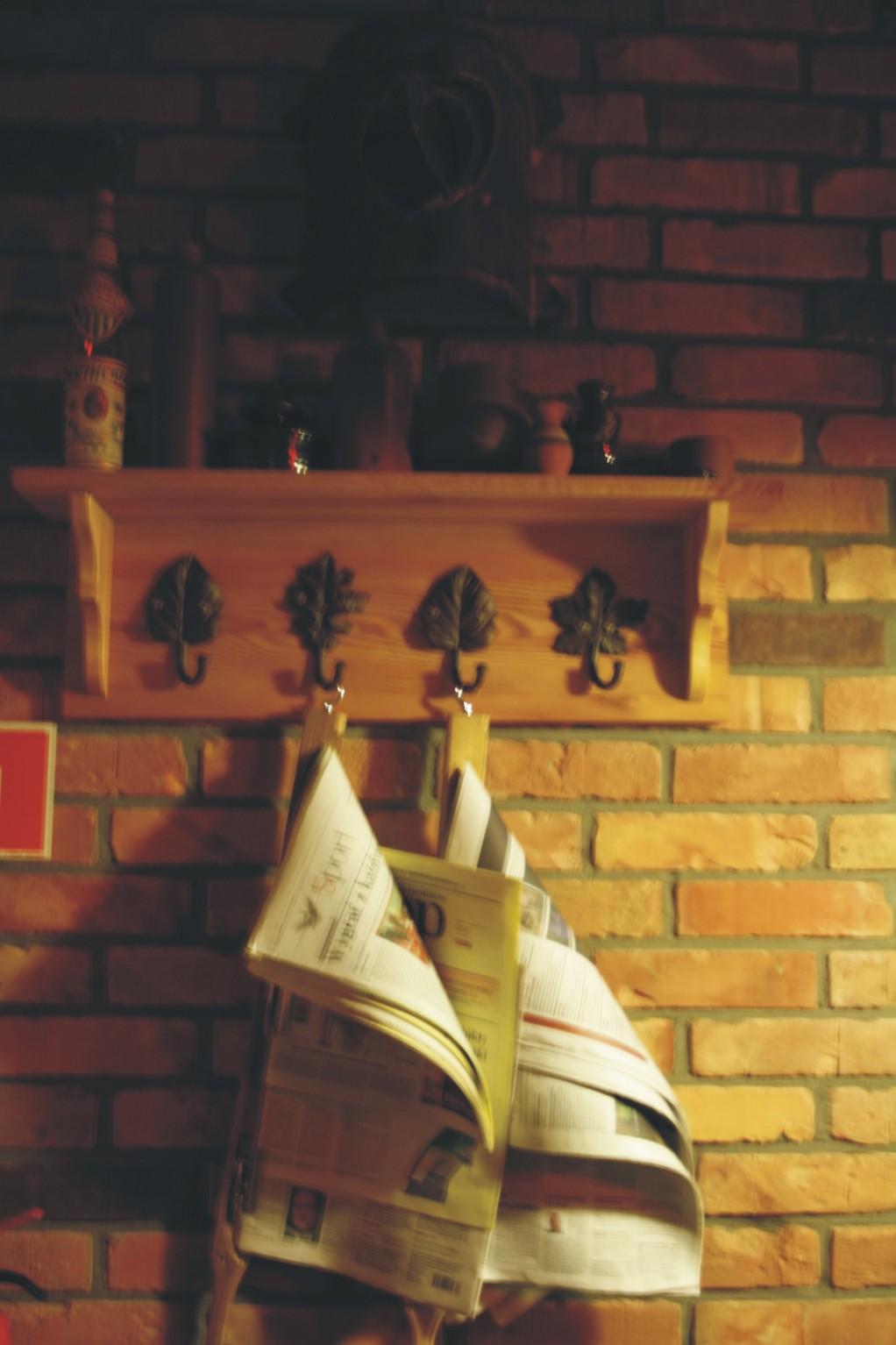 Projektowanie wnętrz Szczecin - ozdoby - Pub Garaż