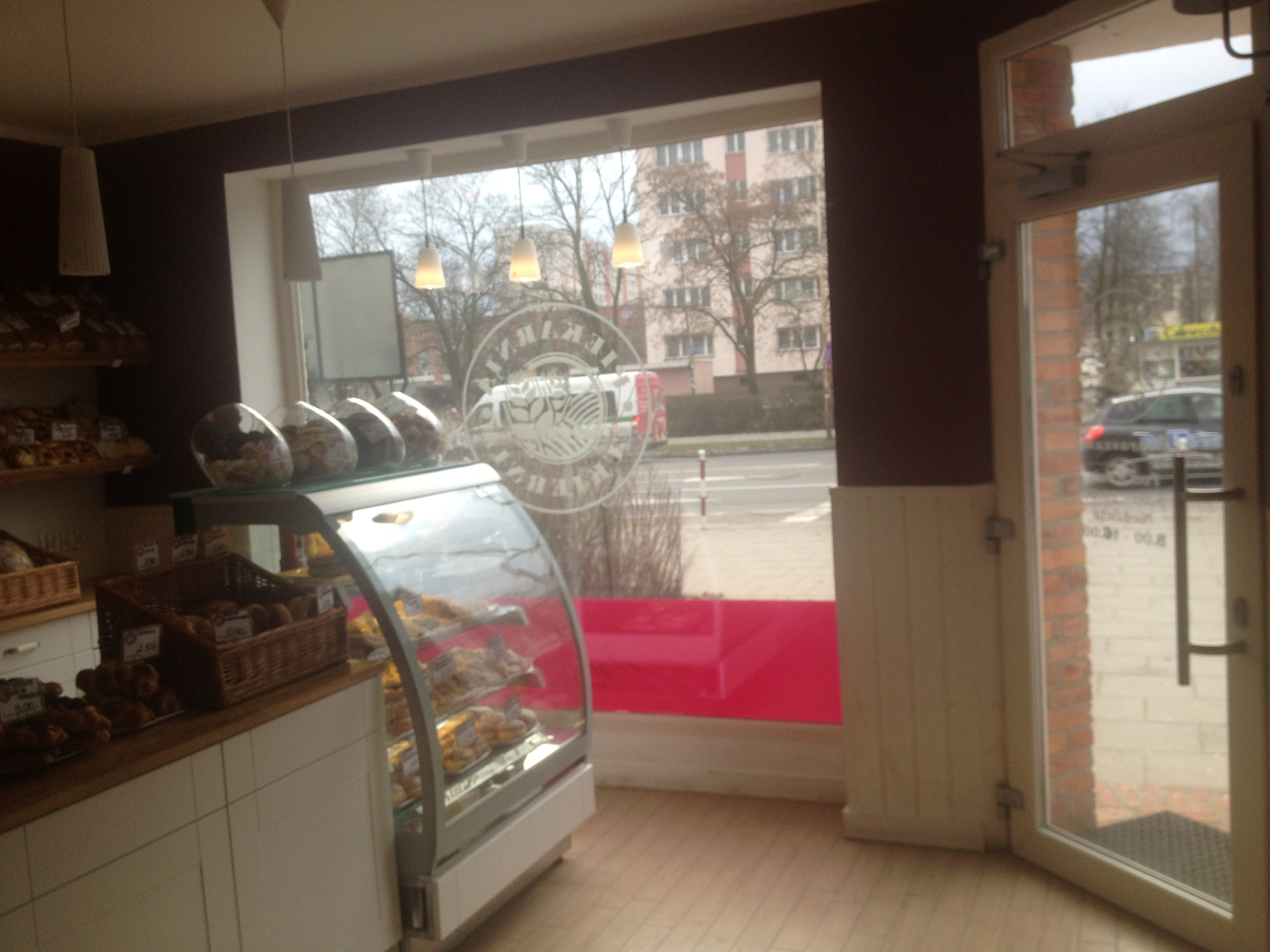 Aranżacja wnętrza piekarni - architekt Beata Owczarek