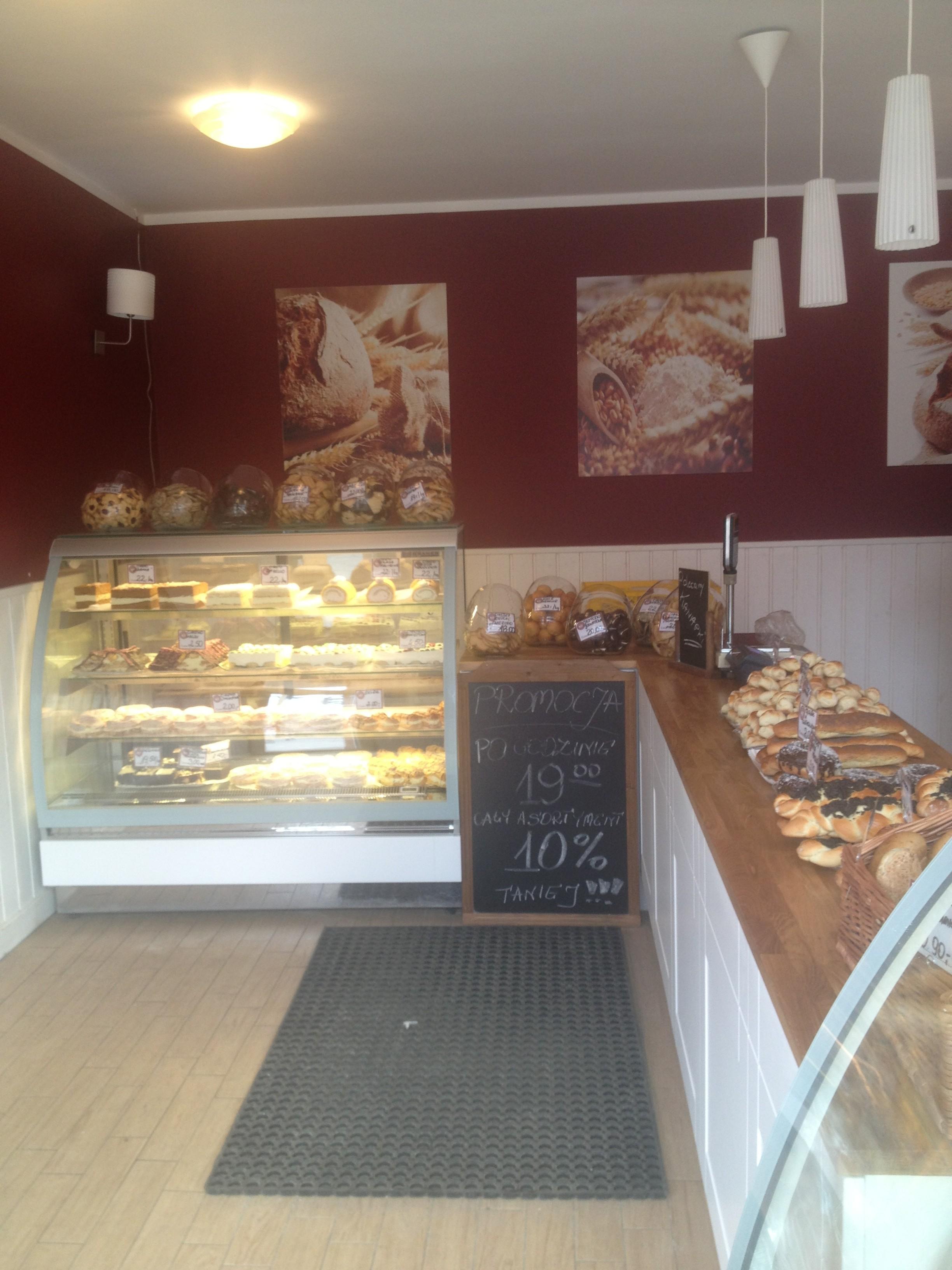 Wnętrze piekarni w Szczecinie zaprojektowane przez Beatę Owczarek