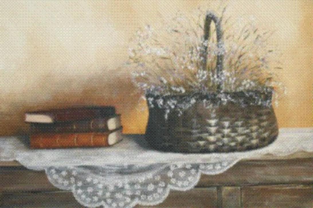 Malarstwo szczecin - obraz Książki i kosz