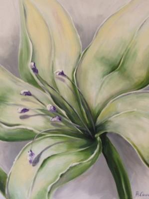 Lilia - wystrój wnętrza, martwa natura
